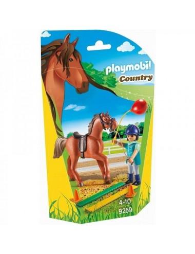 Terapeuta De Caballos Playmobil 9259