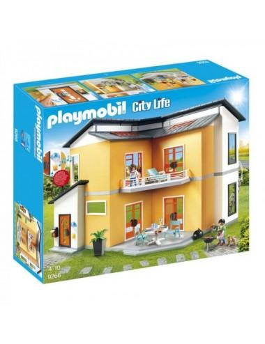 Casa Moderna De Playmobil City Life