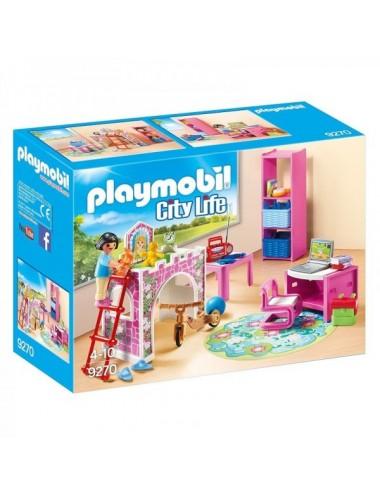 Habitacion Infantil De Playmobil City Li