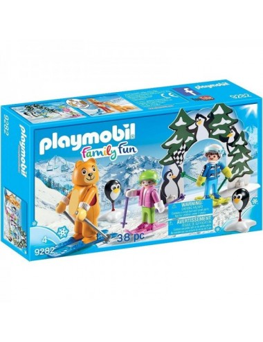 Vamonos Aprender A Esquiar Con Playmob