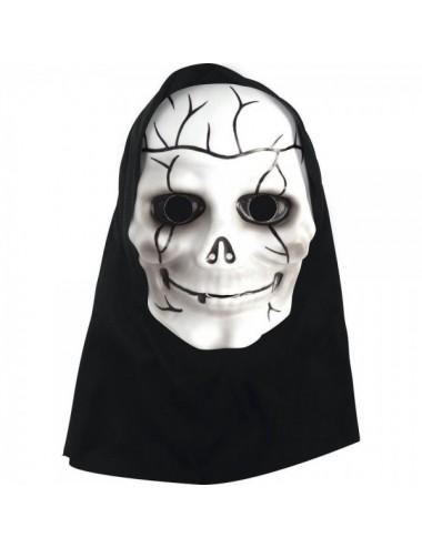 Mascara Skull Con Capucha