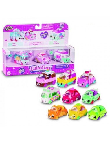 Blister Coches Shopkins Cute Cars