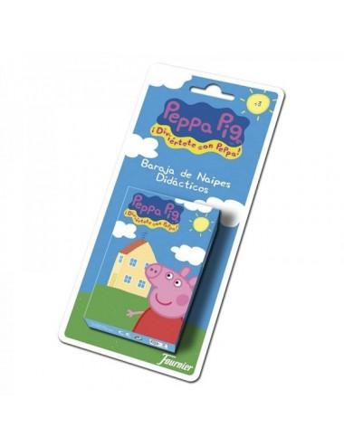 NAIPES INFANTILES PEPPA PIG