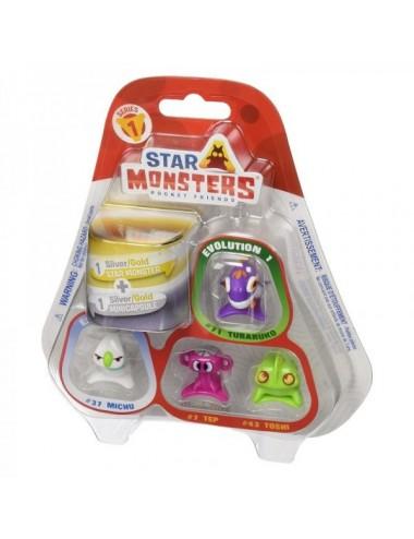 Pack 5 Star Monster Serie 1