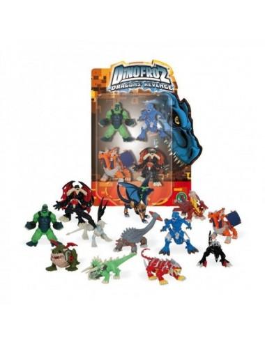 Dinofroz Pack 4 Dinosaurios