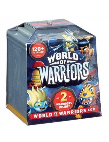 World Of Warriors + 2 Figuras