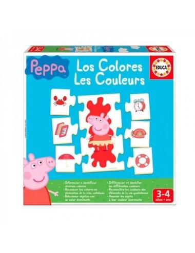 Los Colores Con Peppa Pig