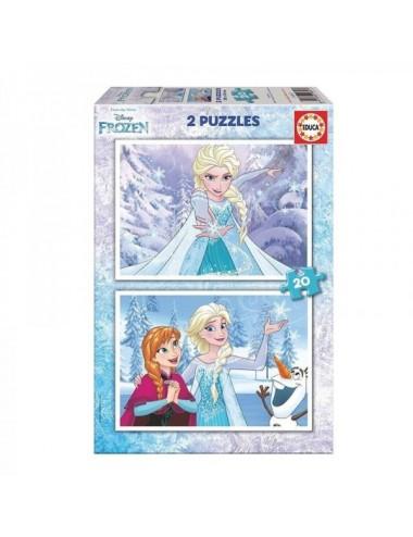 Puzzle Frozen 2 X 20 Piezas Educa