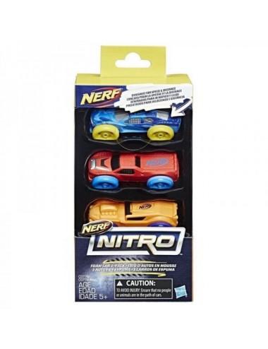 NERF NITRO 3 PACK REFILL