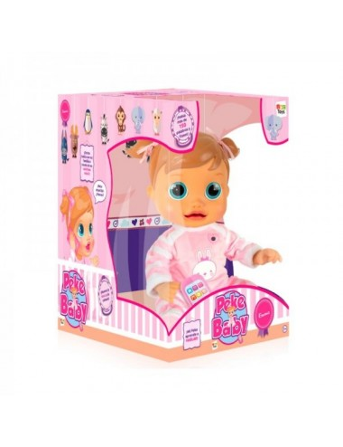 Muñeca Interactiva Peke Baby Emma