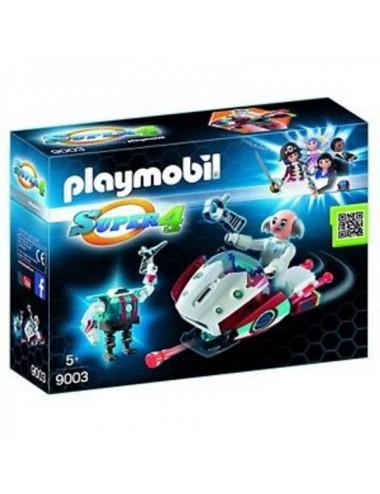 Skyjet Con Dr X Y Robot Playmobil 9003