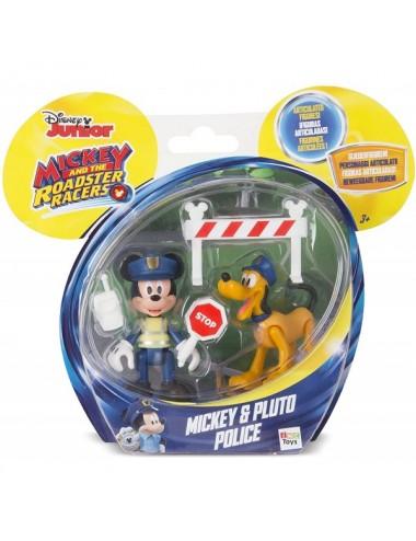 Mickey+ Pluto Policia