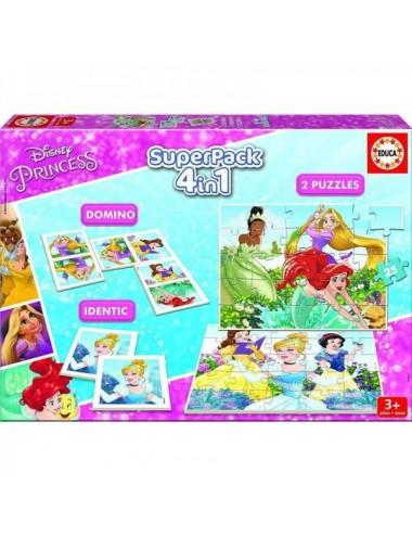 Superpack Puzzles Princesas Disney Educa