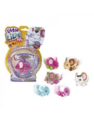Ratón Juguetón Little Live Pets Unidad S