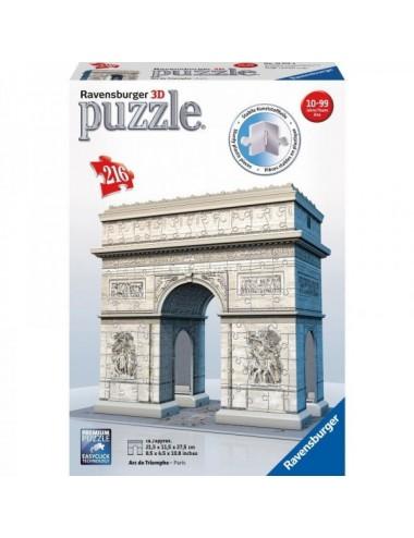Puzzle Ravensburger 3D Arco Del Triunfo