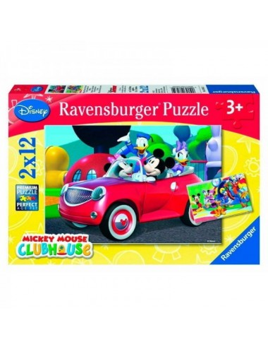 Puzzle 2X12 Piezas De Mickey Mouse Club