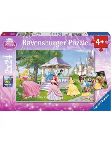 Puzzle Princesas Disney 2 X 24 Piezas Ra