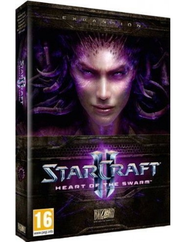 Starcraft Heart Of The Swarm Juego Pc Bl