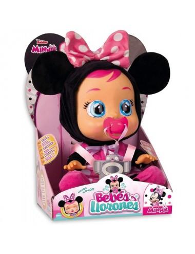Muñeca Minnie Bebe Llorón