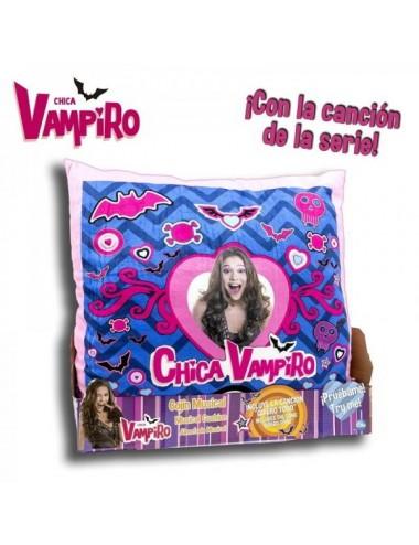 Cojin Musical Chica Vampiro