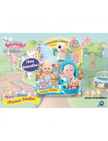 Bouncin Babies Dulces Sueños Azul