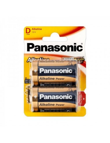 Pila Panasonic Alkalina Lr20 Blister 2