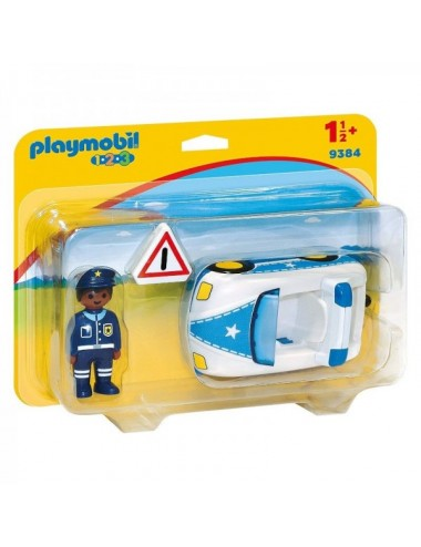 Coche De Policia De Playmobil 123