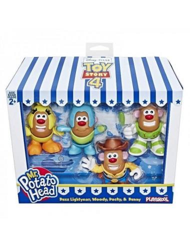 Pack 4 Mini Mr Potato Toy Story 4