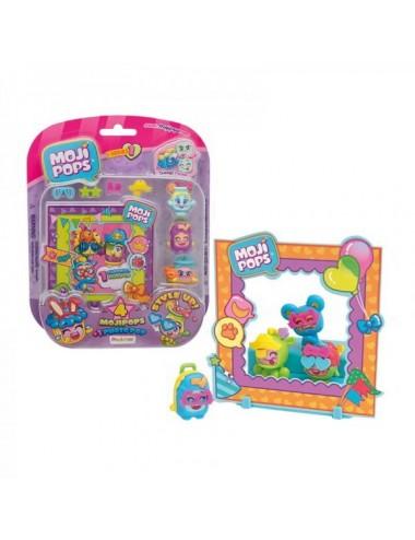 Mojipops Serie 1  Pack 3 Mojipops + 1 P