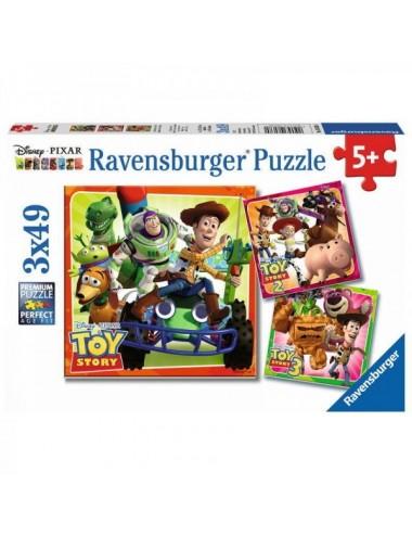 Toy Story History Puzzle 3 X 49 Piezas
