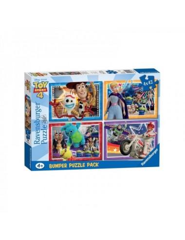 Puzzle Ravensburger Toy Story 4 De 4X42
