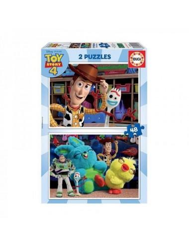 Toy Store Puzzle Para Niños 2 X 48 Pieza