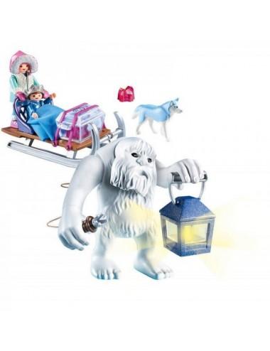 Trol De Nieve Y Trineo Playmobil