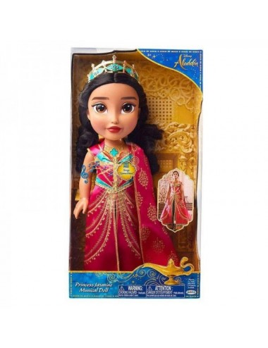 Princesa Jasmine Musical Doll