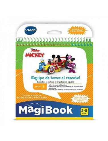Libro Magibook  Mickey Equipo De Boxes