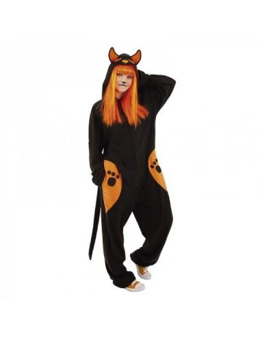 Disfraz Kigu Black Cat Adulto