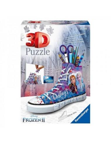 PUZZLE 3D 108 PIEZAS SNEAKER FROZEN 2
