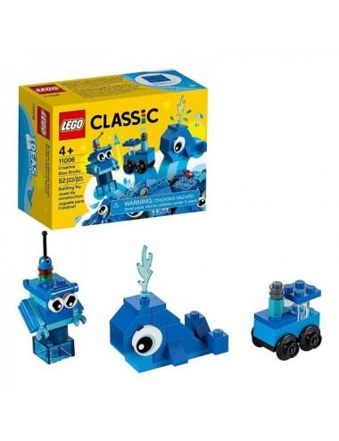Ladrillos Creativos Azules Lego 11006