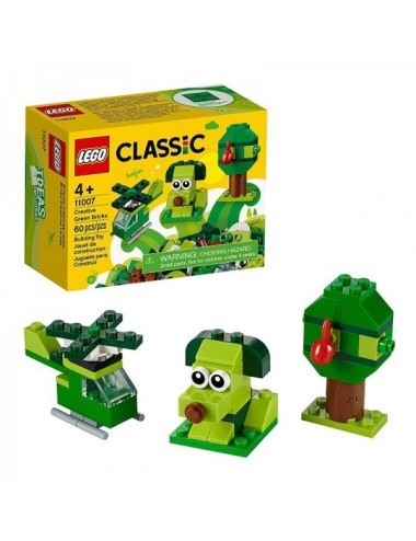 Ladrillos Creativos Verdes Lego 11007