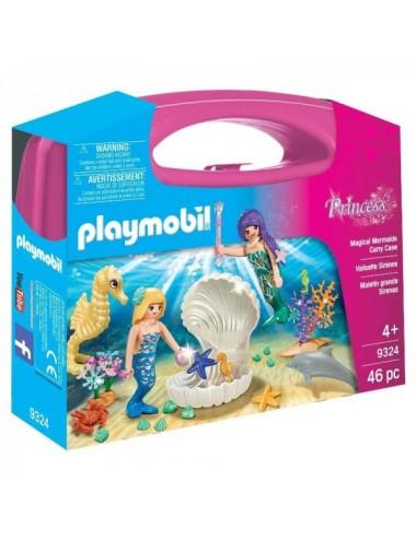 Maletin De Grandes Sirenas De Playmobil