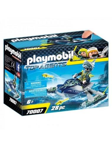 Team SHARK Nave Cohete De Playmobil