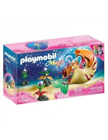 Sirena Con Caracol De Mar De Playmobil 7
