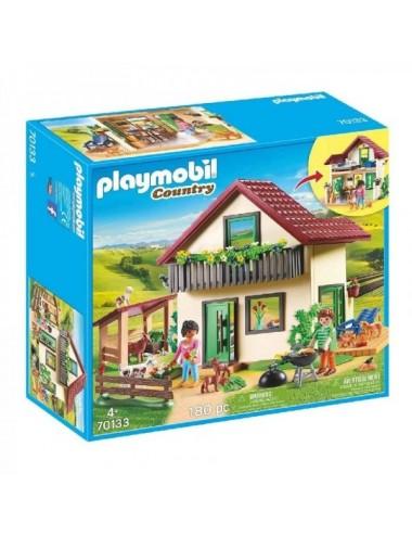 Casa De Campo De Playmobil Country