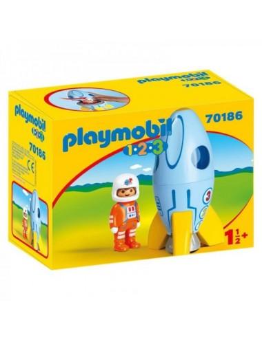 Cohete Con Astronauta De Playmobil 123