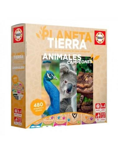 Animales Campeones Educa