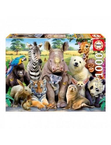 Puzzle De 1000 Piezas Foto De Clase Anim