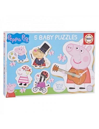 Puzzle Progresivo Baby Peppa Pig Modelo