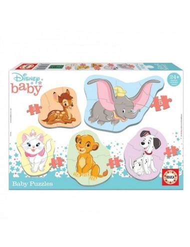 Puzzle Animales Disney Baby