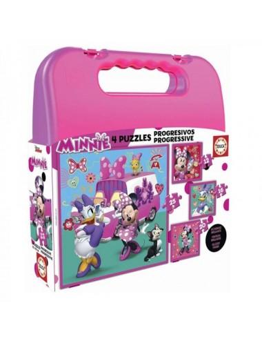 Minni Happy Maltín Puzzles Progresivos
