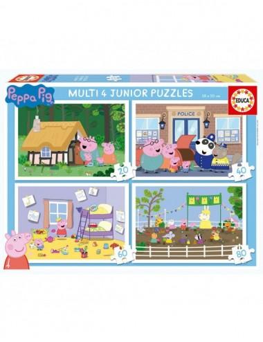 Puzzle Peppa Pig Junior Progresivo